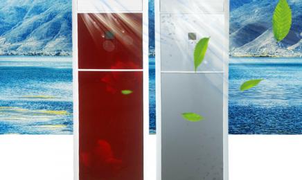 玻璃面板水空调柜机