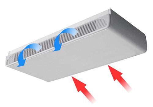 卧式明装风机盘管